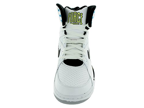 Nike Air Command Force Uomo Hi Sneaker Scarpe da ginnastica 684715 white black wolf grey volt 100
