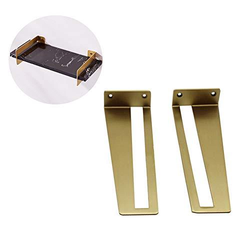 SHXF Shelf Soporte para estantes Metal, Estantes de Pared, Baldas flotantes de...