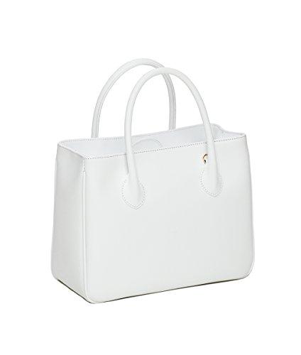 Winter & Co., Borsa a mano donna Medium Bianco