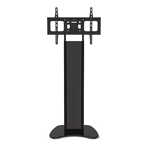 HFTEK - Fernseh-Monitor-Halterung Ständer Standfuß mit TV-Adapter für Bildschirme bis 60 Zoll - VESA 300 / 400 / 600 (ST91)