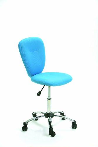 Links 99803140 Kinderstuhl Kinder Drehstuhl Schreibtischstuhl Kinderdrehstuhl verstellbar blau
