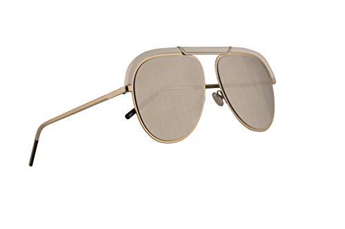Dior Frau Christian DiorDesertic Sonnenbrille w/Irovy Spiegel-Objektiv 58mm Y3RQV Desertic Gold Elfenbein groß