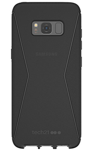 Tech 21 T21-5584 Evo Check Protective Case for Samsung S8 - Clear/White schwarz