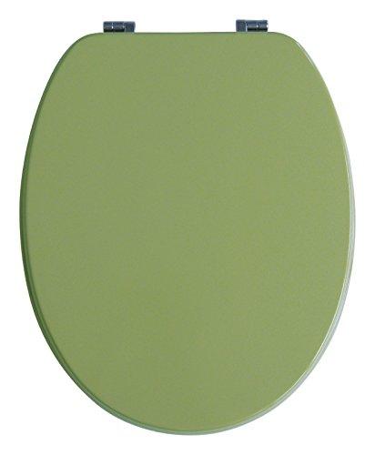 WC-Sitz Venezia oliv | Toilettensitz | WC-Brille aus Holz | Mit Active-Clean-Beschichtung | Metall-Scharnier