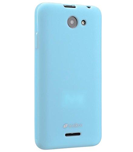 Perlen Thermoplastische (Melkco Poly Jacket TPU Case für HTC Desire 516 Dual Sim perle)