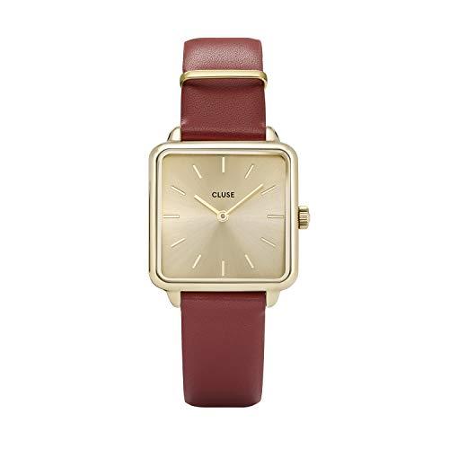cluse orologio analogico quarzo donna con cinturino in pelle cl60009