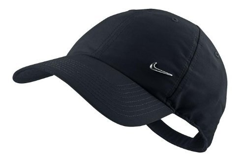 Nike Classic Youth Metal Swoosh Baseball Cap in Black 405043 010 Test