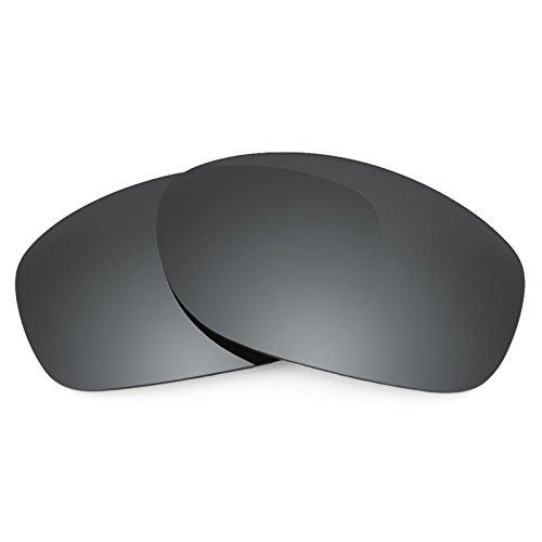 Preisvergleich Produktbild Revant Ersatzlinsen für Oakley Pit Bull Schwarz Chrom MirrorShield®