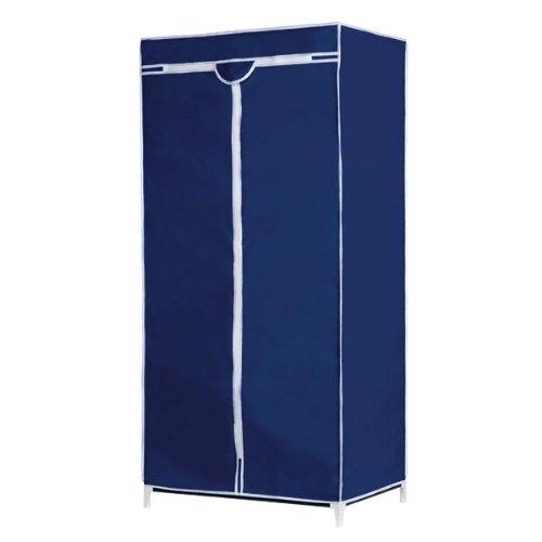 Textil Kleiderschrank 160x75x50 Stoffkleiderschrank