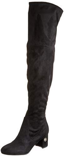 Guess ADLEE2/STIVALE (Boot)/Fabric, Botas Altas para Mujer, Negro Black, 37 EU