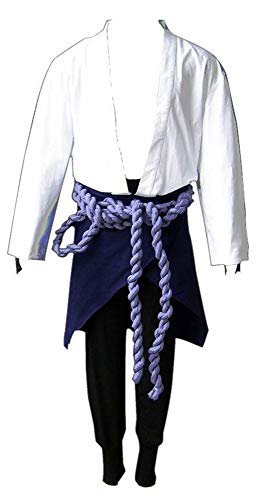 Chong Seng CHIUS Cosplay Costume Hidden Leaf Shinobi Uchiha Sasuke Outfit Ver 3