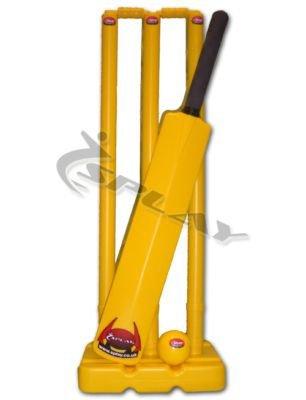 Splay Cricket Kwik Set-Größe 6-gelb