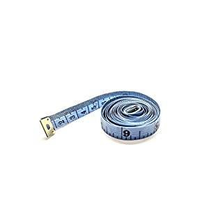 Blue Tailoring Tape Measure 60 inch / 150cm - 19mm wide