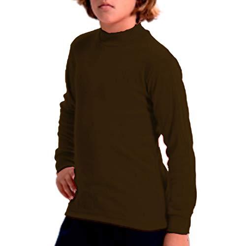 FABIO - Camiseta Carnaval Infantil niñas Color: Marron 518 Talla: 2