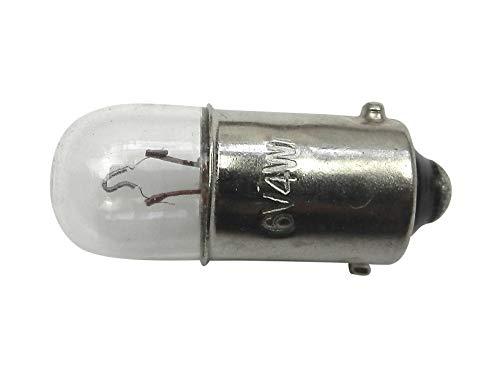 Glühbirne für Bernina Nähmaschine (ältere Modelle) Niedervolt 6 V 4 Watt mit Bajonettverschluss