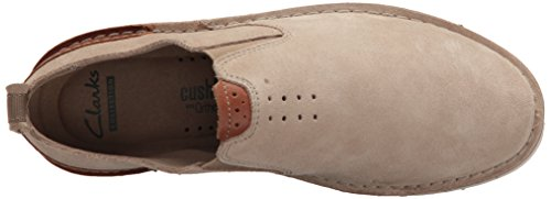 Clarks Narrative Capler Step Herren Rund Wildleder Slipper Sand