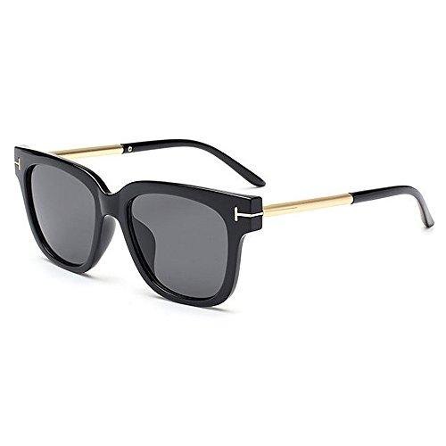 Aihifly Sonnenschutz Vintage Full Frame Cat Eyes Sonnenbrille für Frauen Männer UV Schutz für Outdoor Driving Vacation Sommer Strand (Farbe : C1)