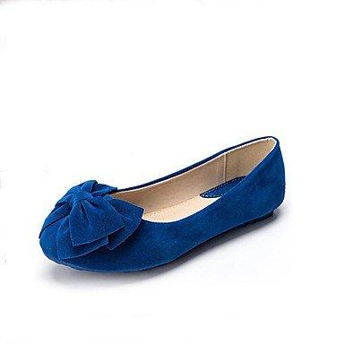 Confortevole ed elegante piatto scarpe donna Appartamenti Punta tonda / punta chiusa / Appartamenti Casual tacco piatto BowknotBlack / blu / giallo / rosa / Purple