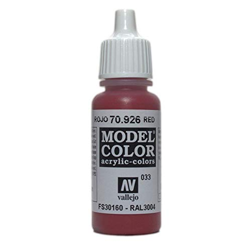 WWG Vallejo Paint Game Color Red 70.926 - Wargame Miniature Figure Painting Modelling