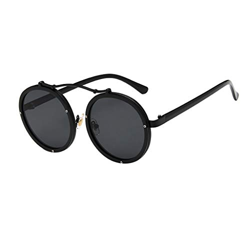 Rosennie Unisex Sonnenbrille Big Frame Sonnenbrillen Eyewear Frau Männer Vintage Retro Brille 100% UV400 Schutz Fahrer Brille für Damen Herren Übergroße Sonnenbrille