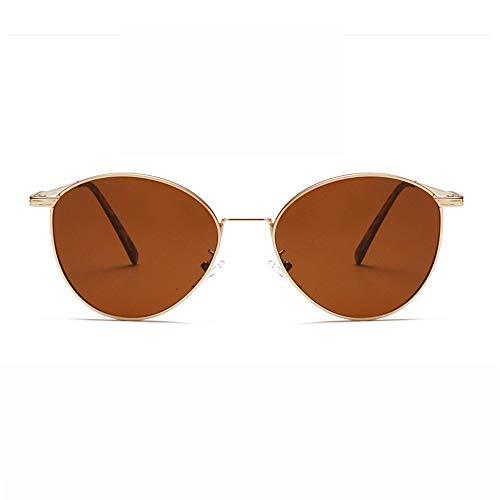 Polarisierte Sonnenbrillen Für Damen Herren Unisex polarisierte Sonnenbrille Frauen Männer Retro Marke Sonnenbrillen-Outdoor männlich oder weiblich oder Fahren (Farbe : Gelb, Größe : Casual Size)