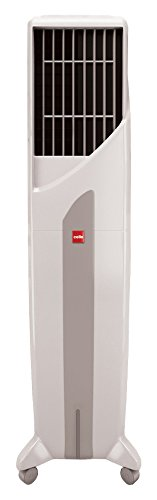 Cello Tower Plus 50-Litre Air Cooler (White/Grey)