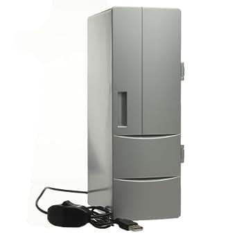 USB Mini Réfrigérateur Frigo 8 - 60°C pour 2 Boisson Chaude Froide Maison Bureau