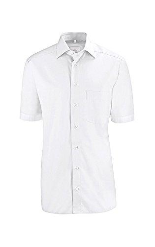 Greiff Herren-Hemd BASIC, Regular Fit, Stretch, easy-care, 6666, weiß, Größe 37/38