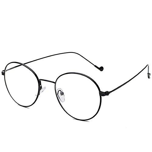 BiuTeFang Mens Sunglasses Women Small bee Personality Letter Glasses Round Sunglasses Street Beat Sun Glasses Chao Fan Men and Women Sunglasses