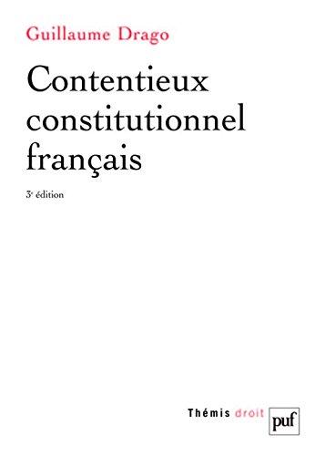 Contentieux constitutionnel français