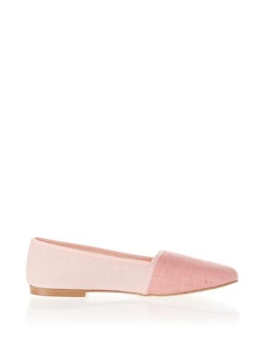 Jonny's Vegan Damen Schuhe Ballerina AJ1416 Espadrilles Montblanc pink (rose) (38) - 3