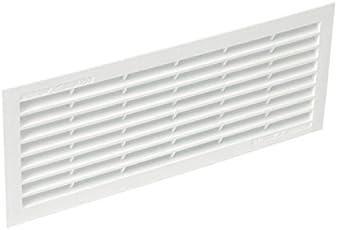 Nicoll Lüftungsgitter, mit Insektenschutz 150 B161 einfach (30x12x1 cm)