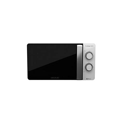 Cecotec Micro-onde ProClean 3010, Blanc, 20L, 6 Niveaux, Technologie 3DWave, 700W, Design Elégant, Revêtement Ready2Clean pour un Nettoyage Facile