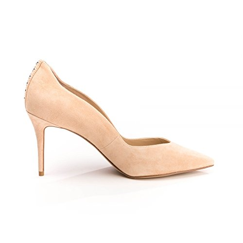 Kendall and Kylie Brianna Decollete' Natural Donna MainApps Apricot Peach Suede