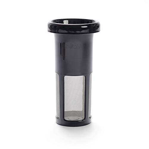 Vegan Milker Vaso filtrante. Recambio Filtro de Acero Inoxidable. Color Negro. Polivalente para Cualquier...