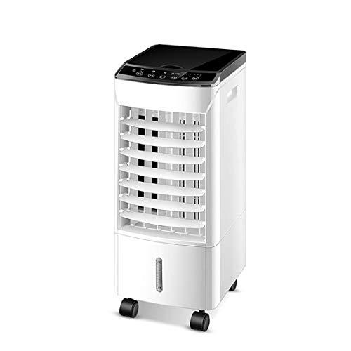 Air Cooler Luftkühler - Start Remote Touch Manipulation Ventilator, Der Befeuchtungsventilators Ventilator, Weitwinkel Luft, 12H Timer / 4L (Baby Sommer-monitor Touch)