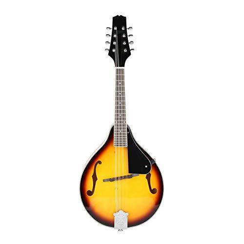 8 Mandolinensaiten, aus Holz, 8 Saiten für Mandoline, klassisch, mit Aufbewahrungstasche -