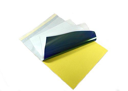 50 Blatt Matritzenpapier für Tattoo Thermo Papier - Stencil Paper