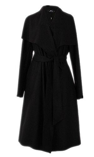 Fanessy Damen Herbst Trenchcoat Mantel Langärmlig Revers Jacke Outwear