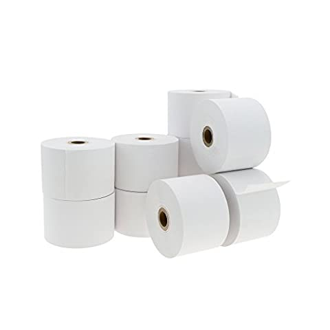Cablematic - Thermal PDQ roll paper for printer and cash register 44x52mm 10 units