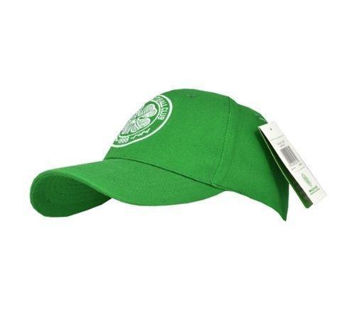 Neue Offizielle Fußball Team Baseball Kappe (verschiedene Mannschaften zur Auswahl.) alle mit offiziellen Club Shop Tags., Herren, Celtic (Green), einheitsgröße (Green Adjustable Hut)