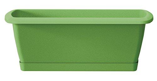 Prosper Plast ise600p-370u 59x 18,4x 14,5cm'Espana' Balkon-Set Fall mit Ständer–Oliv...