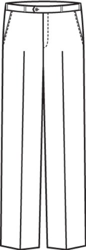GREIFF Herren-Hose Anzug-Hose PREMIUM regular fit - Style 1325 Royalblau