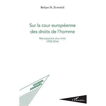 Sur la cour européenne des droits de l'homme: Rétrospective d'un initié (1998-2016)