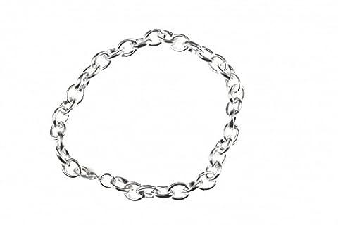 Bettelarmband Basisarmband für Charms Armband Miniblings oval small