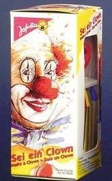 Schminkset Clown Clownschminke Schminke Makeup Make-Up