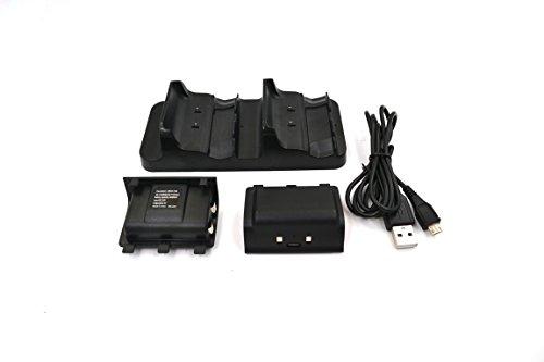 reytid xbox-32Xbox One S Slim Dual Wireless Controller Charging Dock–Schwarz