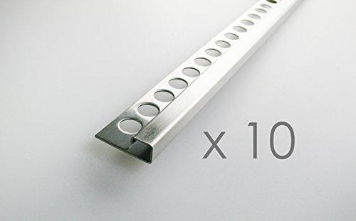 10-pezzo-25m-profili-per-pavimenti-10mm-quadro-perfilo-acciaio-inox-satinate