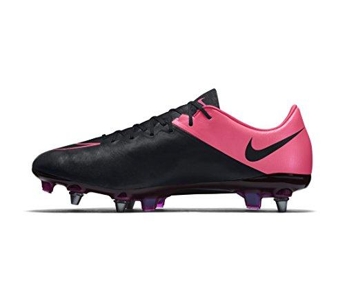 Nike Mercurial Vapor X Lthr Sg-pro, Chaussures de football homme Noir