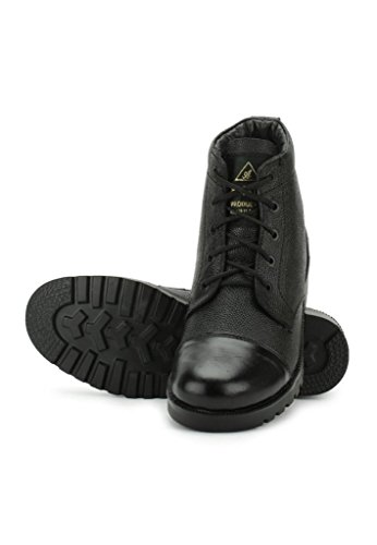 Zacharias Men's Black Leather Ankle Boots